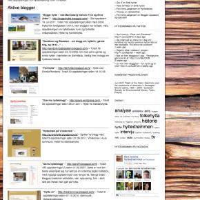 Den store hyttebloggoversikten 2011