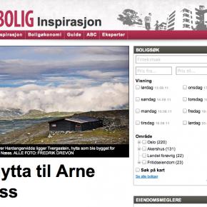 Hytta til Arne Næss i Aftenposten