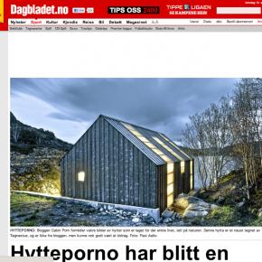 """Hytteporno har blitt internett-hit"", Dagbladet, 30.03.2012"