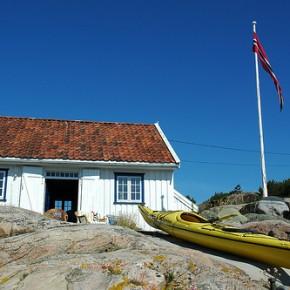 Tyske flagg på norske hytter?